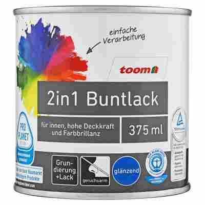 2in1 Buntlack glänzend stadtgeflüstergrau 375 ml