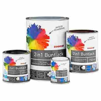 2in1 Buntlack glänzend aquamarinblau 375 ml