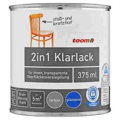 2in1 Klarlack glänzend farblos 375 ml