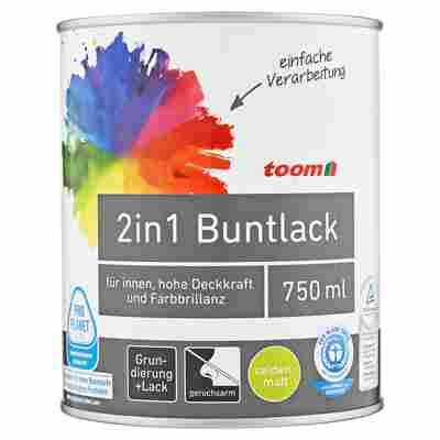 2in1 Buntlack seidenmatt mitternacht 750 ml