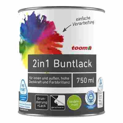 2in1 Buntlack seidenmatt karamell 750 ml