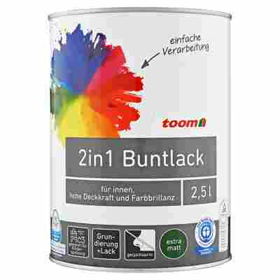 2in1 Buntlack extramatt mitternacht 2500 ml