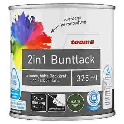 2in1 Buntlack extramatt stadtgeflüstergrau 375 ml