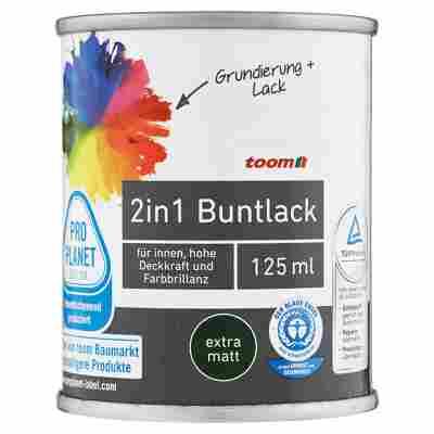 2in1 Buntlack extramatt stadtgeflüstergrau 125 ml