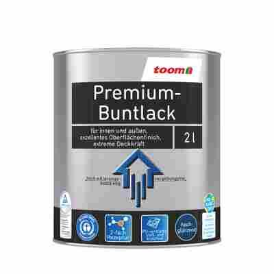 Premium-Buntlack hochglänzend tiefschwarz 2000 ml