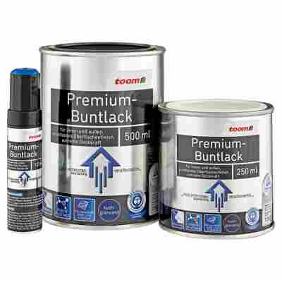 Premium-Buntlack hochglänzend silbergrau 250 ml