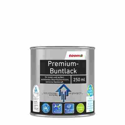Premium-Buntlack seidenmatt silbergrau 250 ml