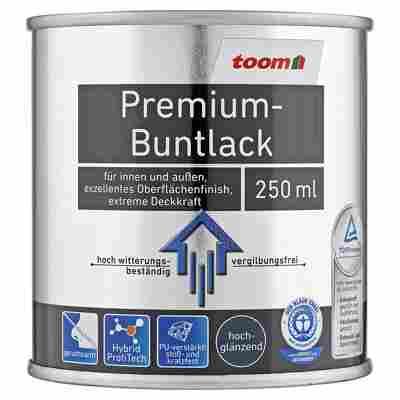 Premium-Buntlack hochglänzend graumetallic 250 ml