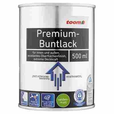 Premium-Buntlack seidenmatt graumetallic 500 ml
