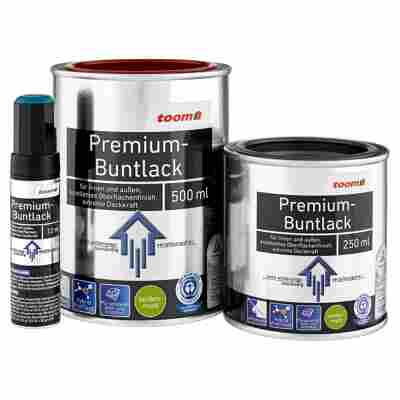 Premium-Buntlack seidenmatt feuerrot 12 ml