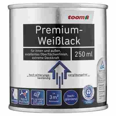 Premium-Weißlack hochglänzend 250 ml