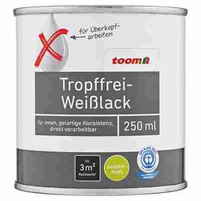 Tropffrei-Weißlack seidenmatt 500 ml