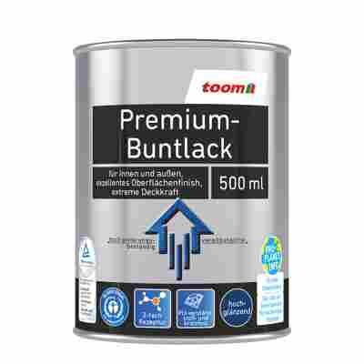 Premium-Buntlack hochglänzend nussbraun 500 ml
