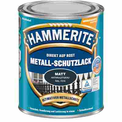 Metallschutzlack anthrazitgrau matt 750 ml