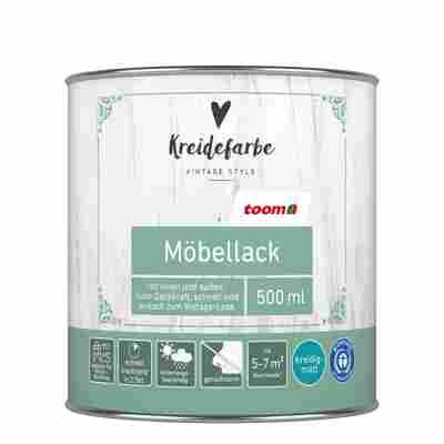 Kreidefarbe Möbellack kreideweiß matt 500 ml