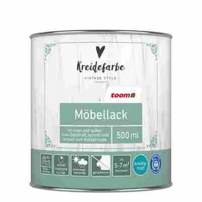 Kreidefarbe Möbellack hellgrau matt 500 ml
