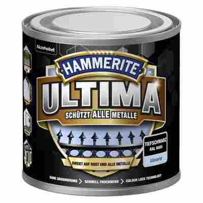 Metallschutzlack 'Ultima' RAL 9005 tiefschwarz glänzend 250 ml