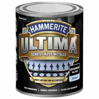 Metallschutzlack 'Ultima' RAL 9005 tiefschwarz glänzend 750 ml