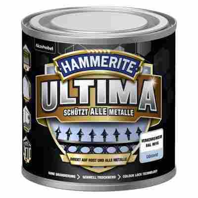 Metallschutzlack 'Ultima' RAL 9016 verkehrsweiß glänzend 250 ml