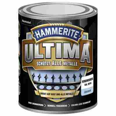 Metallschutzlack 'Ultima' RAL 9016 verkehrsweiß glänzend 750 ml