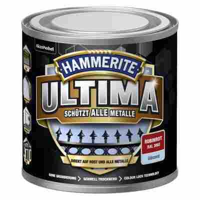 Metallschutzlack 'Ultima' RAL 3003 rubinrot glänzend 250 ml