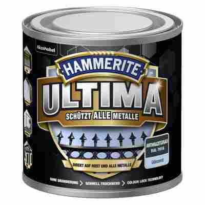 Metallschutzlack 'Ultima' RAL 7016 anthrazitgrau glänzend 250 ml