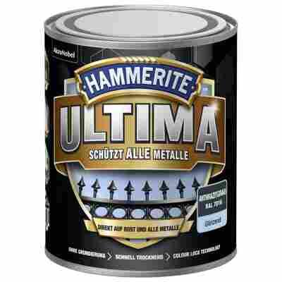 Metallschutzlack 'Ultima' RAL 7016 anthrazitgrau glänzend 750 ml