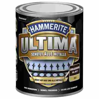 Metallschutzlack 'Ultima' RAL 8017 schokoladenbraun matt 750 ml