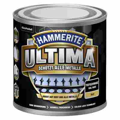 Metallschutzlack 'Ultima' RAL 9005 tiefschwarz matt 250 ml