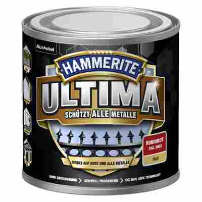 Metallschutzlack 'Ultima' RAL 3003 rubinrot matt 250 ml