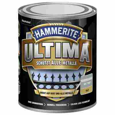 Metallschutzlack 'Ultima' RAL 7042 verkehrsgrau matt 750 ml
