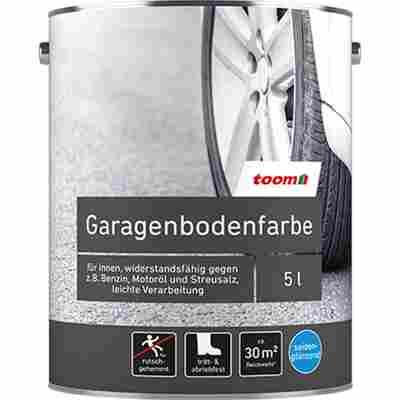 1K-Garagenbodenfarbe silbergrau seidenglänzend 5 l