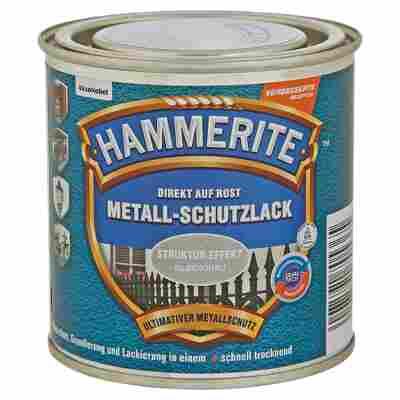 Metallschutzlack 'Direkt auf Rost' silbergrau Struktur-Effekt 250 ml