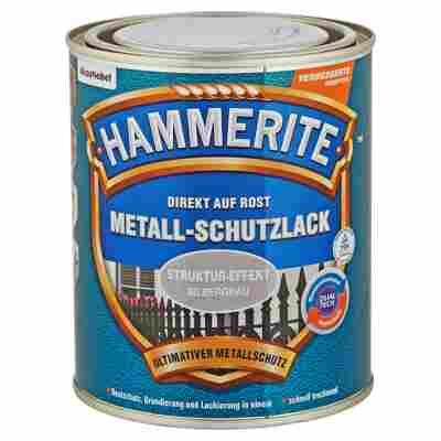 Metallschutzlack 'Direkt auf Rost' silbergrau Struktur-Effekt 750 ml