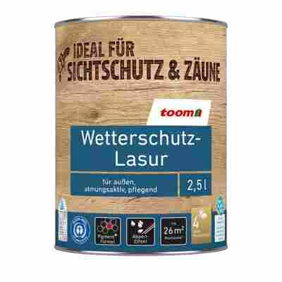 Wetterschutz-Lasur palisanderfarben 2,5 l