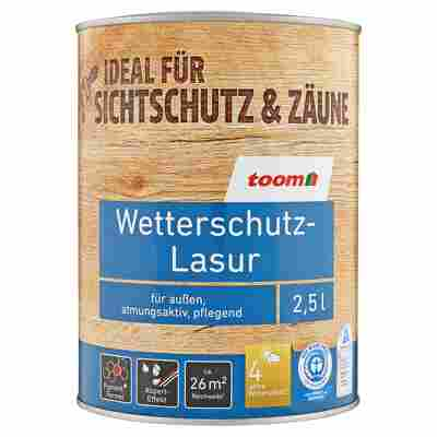 Wetterschutz-Lasur kastanienbraun 2,5 l