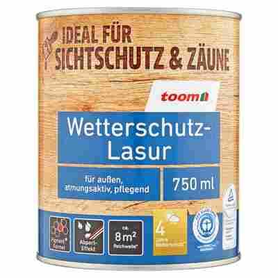 Wetterschutz-Lasur kastanienbraun 0,75 l