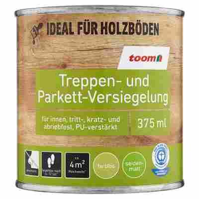 Treppen- und Parkett-Versiegelung farblos seidenmatt 375 ml