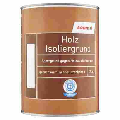 Holz Isoliergrund weiß 2500 ml