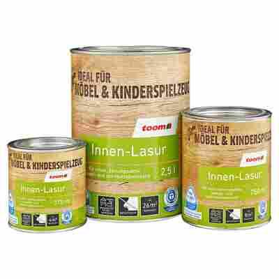 Innen-Lasur Holz eichenfarben 375 ml