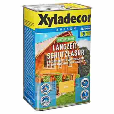 Langzeit-Holzschutzlasur kieferfarben 2,5 l