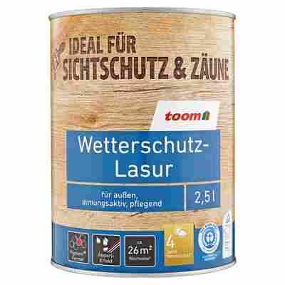 Wetterschutz-Lasur eichefarben 2,5 l
