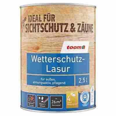 Wetterschutz-Lasur ebenholzfarben 2,5 l