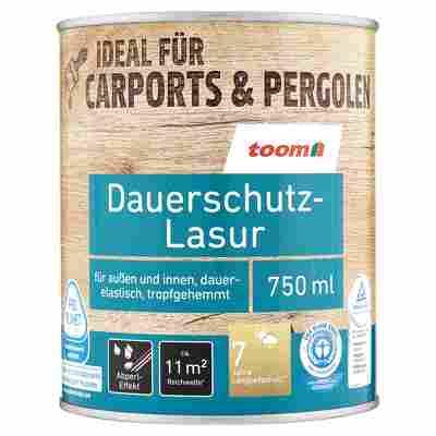 Dauerschutz-Lasur teakfarben 750 ml