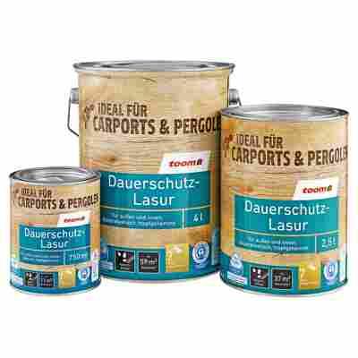Dauerschutz-Lasur kastanienfarben 750 ml