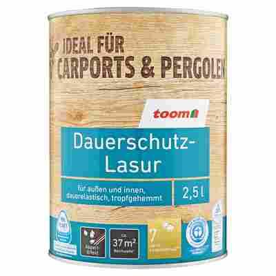 Dauerschutz-Lasur nussbaumfarben 2500 ml