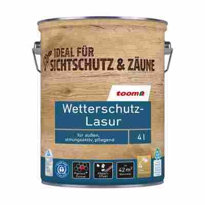 Wetterschutz-Lasur kastanienbraun 4 l
