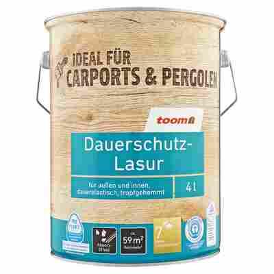 Dauerschutz-Lasur nussbaumfarben 4000 ml