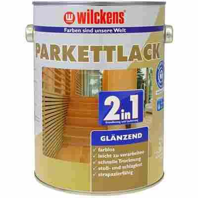 Parkettlack 2 in 1 glänzend, farblos 2,5 Liter