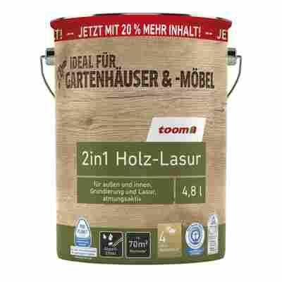 2in1-Holzlasur eichefarben 4,8 l